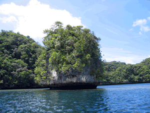 Rock Islands, Palau. © Stephanie Wear (TNC)