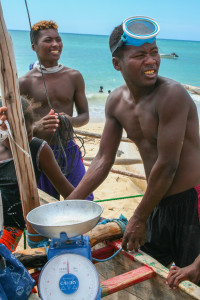 Malagasy fishermen, Andavadoaka. Photo Credit: Ida Vincent