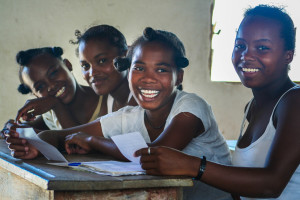 Providing girls with reproductive choices allows them to delay their first pregnancy until after they have completed their education. ©Ida Vincent