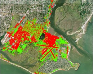 In Connecticut, Coastal Resilience was used to inform the community about where marsh advancement will likely occur and to help identify adaptive solutions to improve community resilience. As a result, Connecticut is now the first state in the United States to have assessed the entire coastline for future salt marsh advancement zones down to the parcel scale.