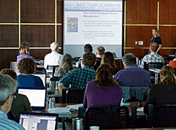 Briefing. Photo © West Coast Governors Alliance on Ocean Health